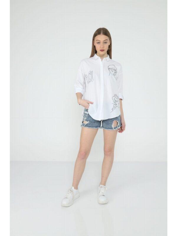 Рубашка женская VLF2223